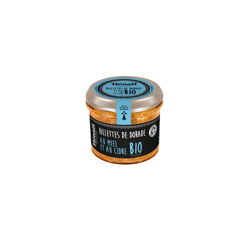 Rillette de Dorade au miel et cidre BIO