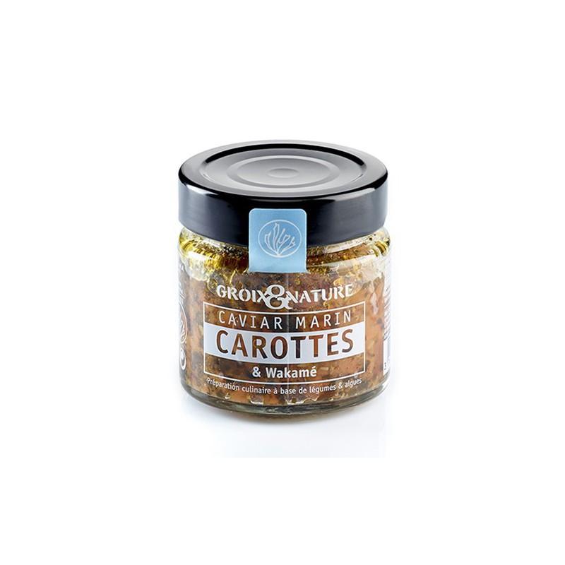 Caviar marin Carottes et Wakamé