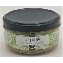 Pâté au foie gras et pistache
