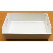 Caissette blanche à garnir