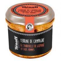 Terrine de campagne à l'andouille de Guéméné et pommes - Hénaff Pouldreuzic