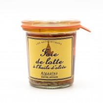 Foie de lotte à l'huile d'olive