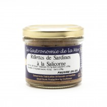 Rillettes de Sardines à la salicorne - KERBRIANT Douarnenez