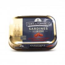 Sardines à l'ancienne confiterelles (tomates séchées)