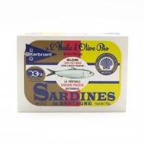 Sardines à l'huile d'olive BIO KERBRIANT Douarnenez