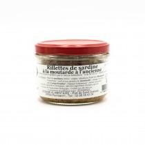 Rillettes de Sardines à la moutarde à l'ancienne - Océane alimentaire
