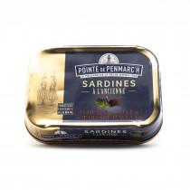 Sardines à l'huile d'olive et tartare d'algues - Bretagne