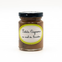 Confit de petits oignons au miel de Bruyère