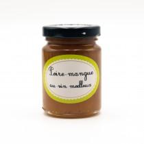 Confit de Poire et Mangue au vin moelleux