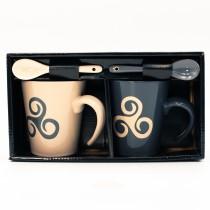 Coffret de 2 mugs Triskell