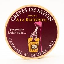 Crêpes de savon au caramel au beurre salé Breton