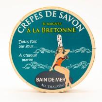 Crêpes de savon Bain de Mer Bretagne