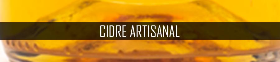 Cidre artisanal