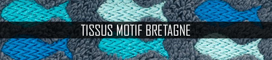 Tissus Motif Bretagne